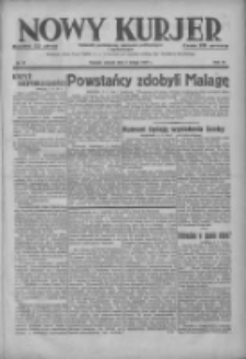 Nowy Kurjer: dziennik poświęcony sprawom politycznym i społecznym 1937.02.09 R.48 Nr31