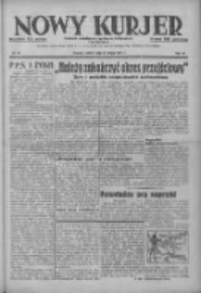 Nowy Kurjer: dziennik poświęcony sprawom politycznym i społecznym 1937.02.13 R.48 Nr35