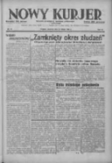 Nowy Kurjer: dziennik poświęcony sprawom politycznym i społecznym 1937.02.14 R.48 Nr36