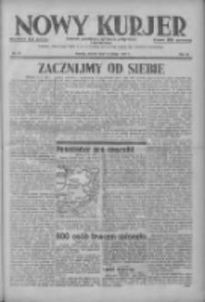 Nowy Kurjer: dziennik poświęcony sprawom politycznym i społecznym 1937.02.16 R.48 Nr37