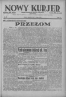 Nowy Kurjer: dziennik poświęcony sprawom politycznym i społecznym 1937.02.21 R.48 Nr42