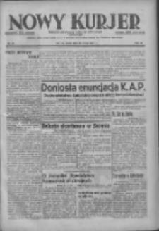 Nowy Kurjer: dziennik poświęcony sprawom politycznym i społecznym 1937.02.26 R.48 Nr46
