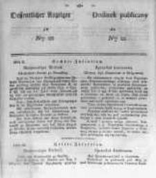 Oeffentlicher Anzeiger zum Amtsblatt No.22 der Königl. Preuss. Regierung zu Bromberg. 1839