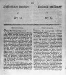 Oeffentlicher Anzeiger zum Amtsblatt No.39 der Königl. Preuss. Regierung zu Bromberg. 1839