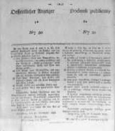Oeffentlicher Anzeiger zum Amtsblatt No.50 der Königl. Preuss. Regierung zu Bromberg. 1839