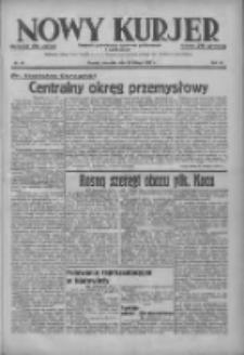 Nowy Kurjer: dziennik poświęcony sprawom politycznym i społecznym 1937.02.28 R.48 Nr48