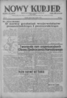 Nowy Kurjer: dziennik poświęcony sprawom politycznym i społecznym 1937.03.02 R.48 Nr49