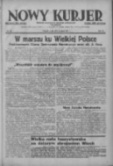 Nowy Kurjer: dziennik poświęcony sprawom politycznym i społecznym 1937.03.03 R.48 Nr50
