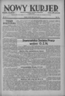 Nowy Kurjer: dziennik poświęcony sprawom politycznym i społecznym 1937.03.09 R.48 Nr55