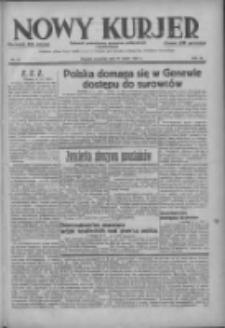 Nowy Kurjer: dziennik poświęcony sprawom politycznym i społecznym 1937.03.11 R.48 Nr57