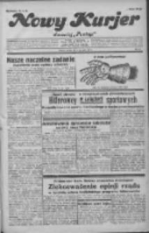 """Nowy Kurjer: dawniej """"Postęp"""" 1932.01.05 R.43 Nr3"""