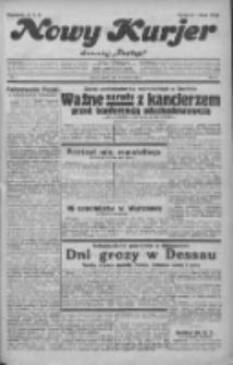"""Nowy Kurjer: dawniej """"Postęp"""" 1932.01.08 R.43 Nr5"""