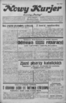 """Nowy Kurjer: dawniej """"Postęp"""" 1932.01.19 R.43 Nr14"""