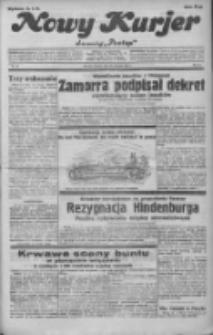 """Nowy Kurjer: dawniej """"Postęp"""" 1932.01.26 R.43 Nr20"""