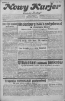 """Nowy Kurjer: dawniej """"Postęp"""" 1932.01.29 R.43 Nr23"""
