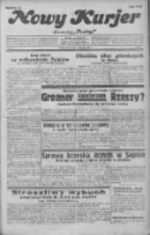 """Nowy Kurjer: dawniej """"Postęp"""" 1932.01.30 R.43 Nr24"""