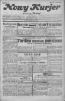 """Nowy Kurjer: dawniej """"Postęp"""" 1932.02.06 R.43 Nr29"""