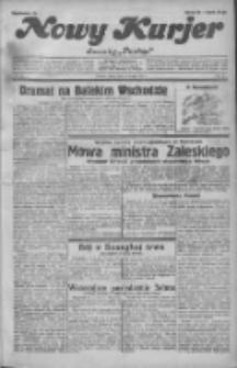 """Nowy Kurjer: dawniej """"Postęp"""" 1932.02.12 R.43 Nr34"""