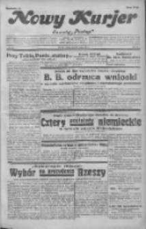"""Nowy Kurjer: dawniej """"Postęp"""" 1932.02.13 R.43 Nr35"""