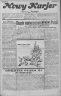 """Nowy Kurjer: dawniej """"Postęp"""" 1932.02.16 R.43 Nr37"""