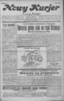 """Nowy Kurjer: dawniej """"Postęp"""" 1932.02.20 R.43 Nr41"""