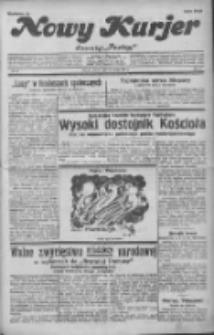 """Nowy Kurjer: dawniej """"Postęp"""" 1932.02.23 R.43 Nr43"""