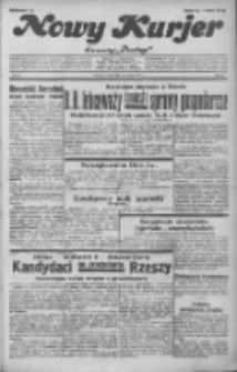 """Nowy Kurjer: dawniej """"Postęp"""" 1932.02.24 R.43 Nr44"""