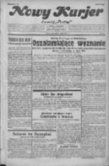 """Nowy Kurjer: dawniej """"Postęp"""" 1932.02.27 R.43 Nr47"""