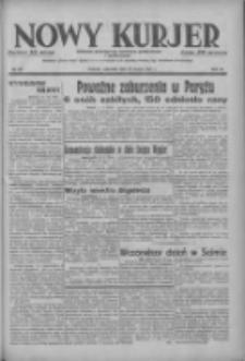 Nowy Kurjer: dziennik poświęcony sprawom politycznym i społecznym 1937.03.18 R.48 Nr63