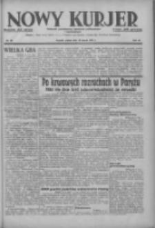 Nowy Kurjer: dziennik poświęcony sprawom politycznym i społecznym 1937.03.19 R.48 Nr64