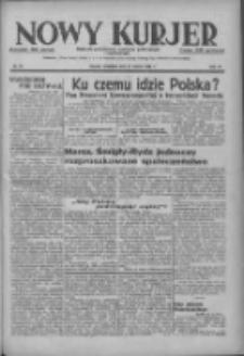 Nowy Kurjer: dziennik poświęcony sprawom politycznym i społecznym 1937.03.21 R.48 Nr66