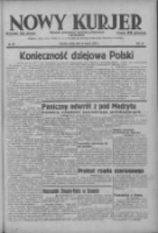 Nowy Kurjer: dziennik poświęcony sprawom politycznym i społecznym 1937.03.24 R.48 Nr68