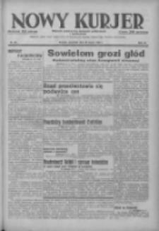 Nowy Kurjer: dziennik poświęcony sprawom politycznym i społecznym 1937.03.25 R.48 Nr69