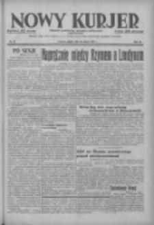 Nowy Kurjer: dziennik poświęcony sprawom politycznym i społecznym 1937.03.26 R.48 Nr70