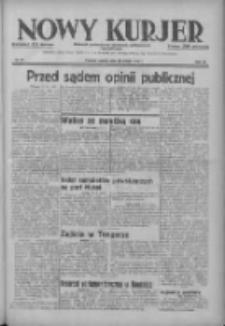 Nowy Kurjer: dziennik poświęcony sprawom politycznym i społecznym 1937.03.27 R.48 Nr71