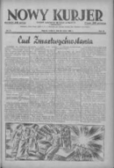 Nowy Kurjer: dziennik poświęcony sprawom politycznym i społecznym 1937.03.28 R.48 Nr72