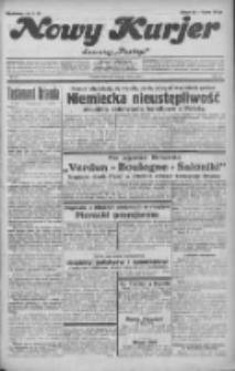 """Nowy Kurjer: dawniej """"Postęp"""" 1932.03.10 R.43 Nr57"""