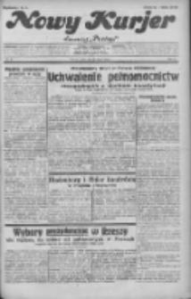 """Nowy Kurjer: dawniej """"Postęp"""" 1932.03.16 R.43 Nr62"""