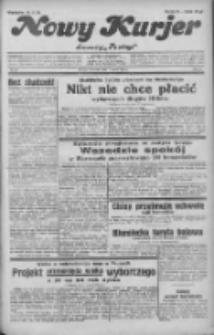 """Nowy Kurjer: dawniej """"Postęp"""" 1932.03.17 R.43 Nr63"""