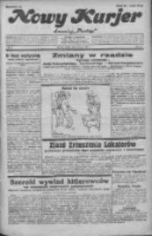 """Nowy Kurjer: dawniej """"Postęp"""" 1932.03.22 R.43 Nr67"""