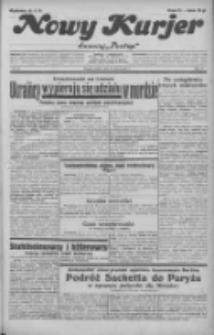 """Nowy Kurjer: dawniej """"Postęp"""" 1932.03.25 R.43 Nr70"""