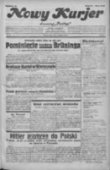 """Nowy Kurjer: dawniej """"Postęp"""" 1932.04.01 R.43 Nr75"""