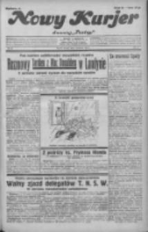 """Nowy Kurjer: dawniej """"Postęp"""" 1932.04.05 R.43 Nr78"""