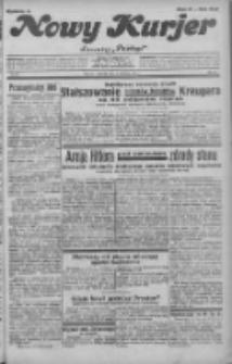 """Nowy Kurjer: dawniej """"Postęp"""" 1932.04.07 R.43 Nr80"""