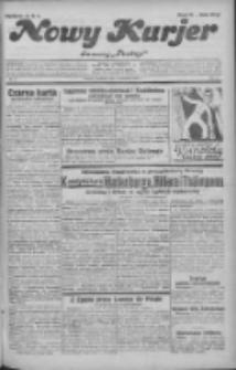 """Nowy Kurjer: dawniej """"Postęp"""" 1932.04.10 R.43 Nr83"""