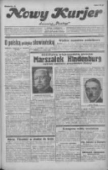 """Nowy Kurjer: dawniej """"Postęp"""" 1932.04.12 R.43 Nr84"""