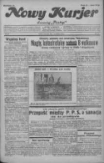 """Nowy Kurjer: dawniej """"Postęp"""" 1932.04.14 R.43 Nr86"""