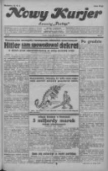 """Nowy Kurjer: dawniej """"Postęp"""" 1932.04.16 R.43 Nr88"""