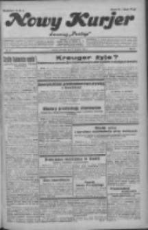 """Nowy Kurjer: dawniej """"Postęp"""" 1932.04.21 R.43 Nr92"""