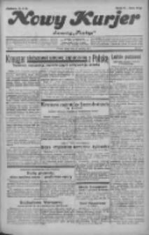 """Nowy Kurjer: dawniej """"Postęp"""" 1932.04.22 R.43 Nr93"""